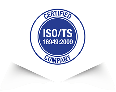 Certified ISO/TS